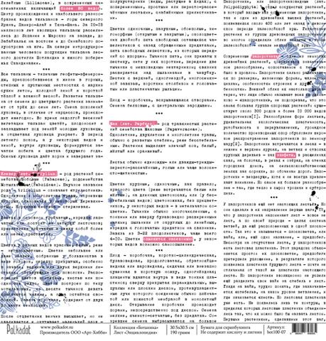 Бумага для скрапбукинга Энциклопедия