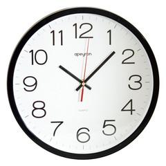 Часы настенные Офис, 30см., черн., пластик  Apeyron PL 1712 502