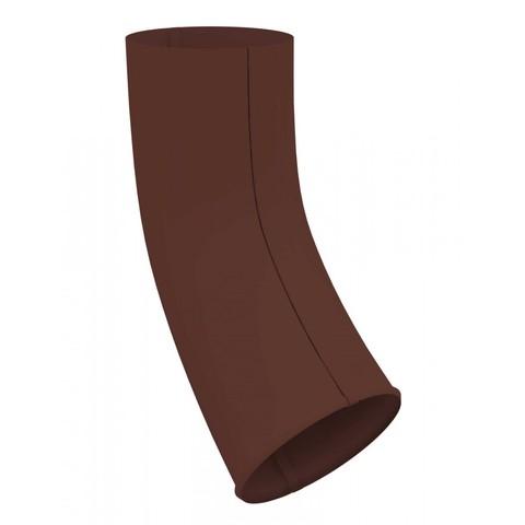 Колено стока ф90 (RAL 8017-коричневый шоколад)