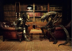 Poster — Alien vs. Predator Game of Chess