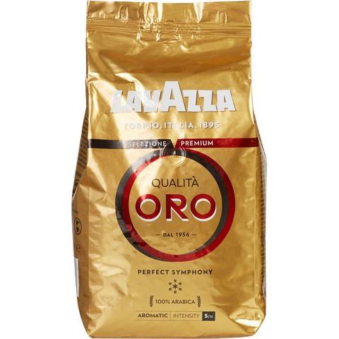 Кофе Lavazza Oro в зернах, 1кг