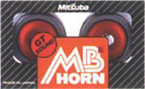 Мембранный звуковой сигнал MITSUBA MBW-2ER