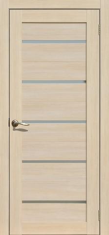 Дверь Fly Doors L-26, стекло матовое, цвет ясень 3D, остекленная