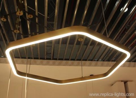 replica Light Ring Horizontal Polygonal by HENGE