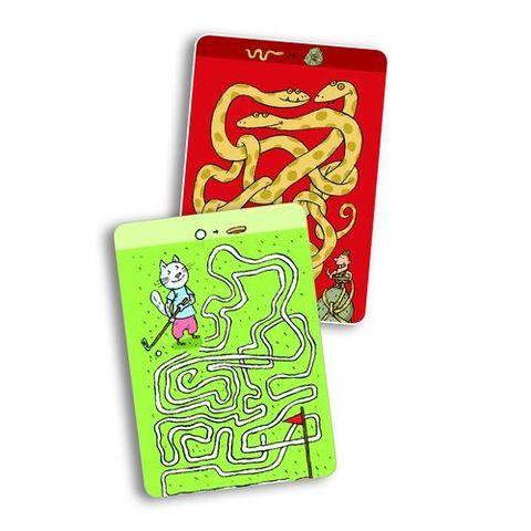 Карточная игра для детей Лабиринты Тесея