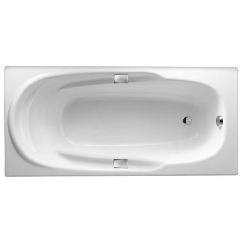 Чугунная ванна Jacob Delafon ADAGIO 170x80 с ручками