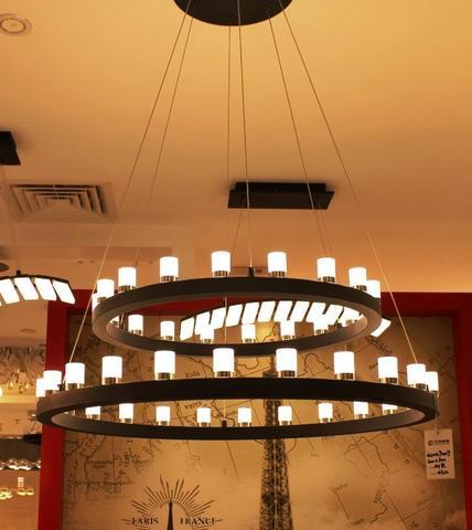replica FontanaArte Chandelier Suspension lamp 2 levels