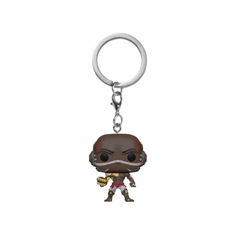 Брелок Думфист || POP! Keychain Overwatch  Doomfist