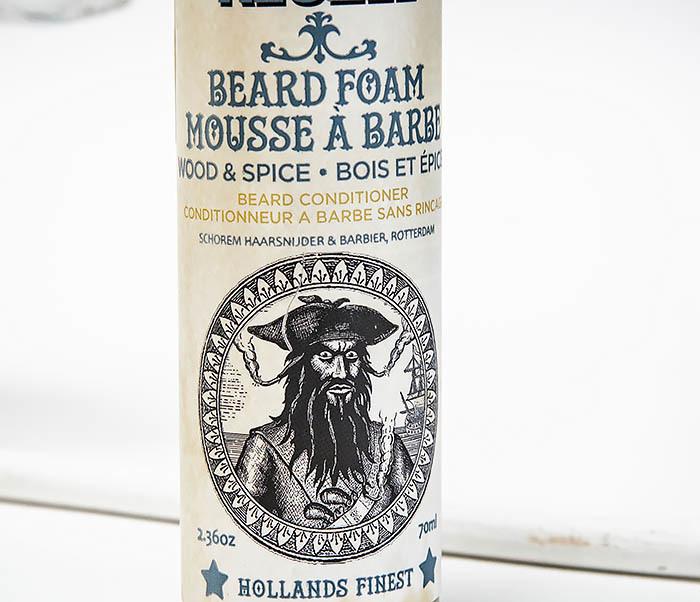 CARE146 Пена кондиционер для бороды Reuzel Wood & Spice Beard Foam (70 мл) фото 02