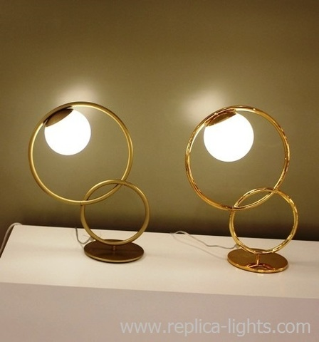 RINGS table lamp by Art metal
