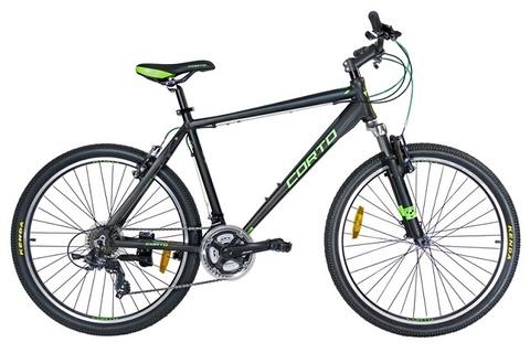 горный велосипед Corto ARK черный