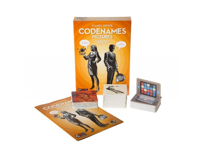 Настольная игра Кодовые Имена. Картинки (Codenames. Pictures)