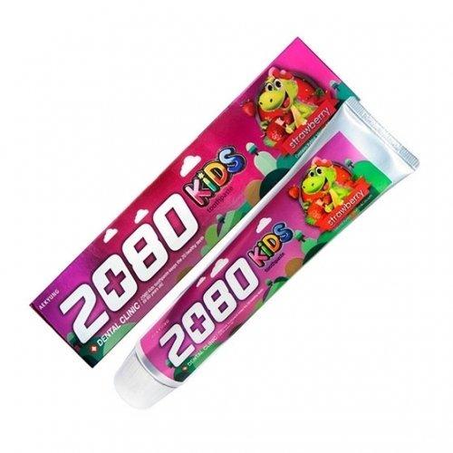 2080 Dental Clinic Зубная паста детская Клубника, 80 г