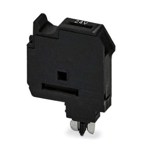 Штекерный держатель предохранителя - P-FU 5X20 LED 24 - 3036819