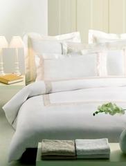 Постельное белье 2 спальное Mirabello San Marco кремовое