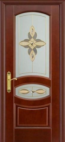 Дверь Луидор Ювелия, стекло витраж