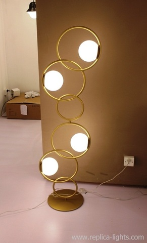 RINGS floor lamp by Art metal