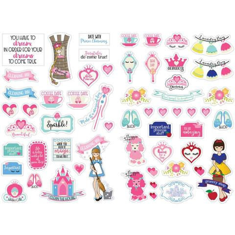 Набор стикеров Julie Nutting Planner Stickers - Fairytales- 56шт