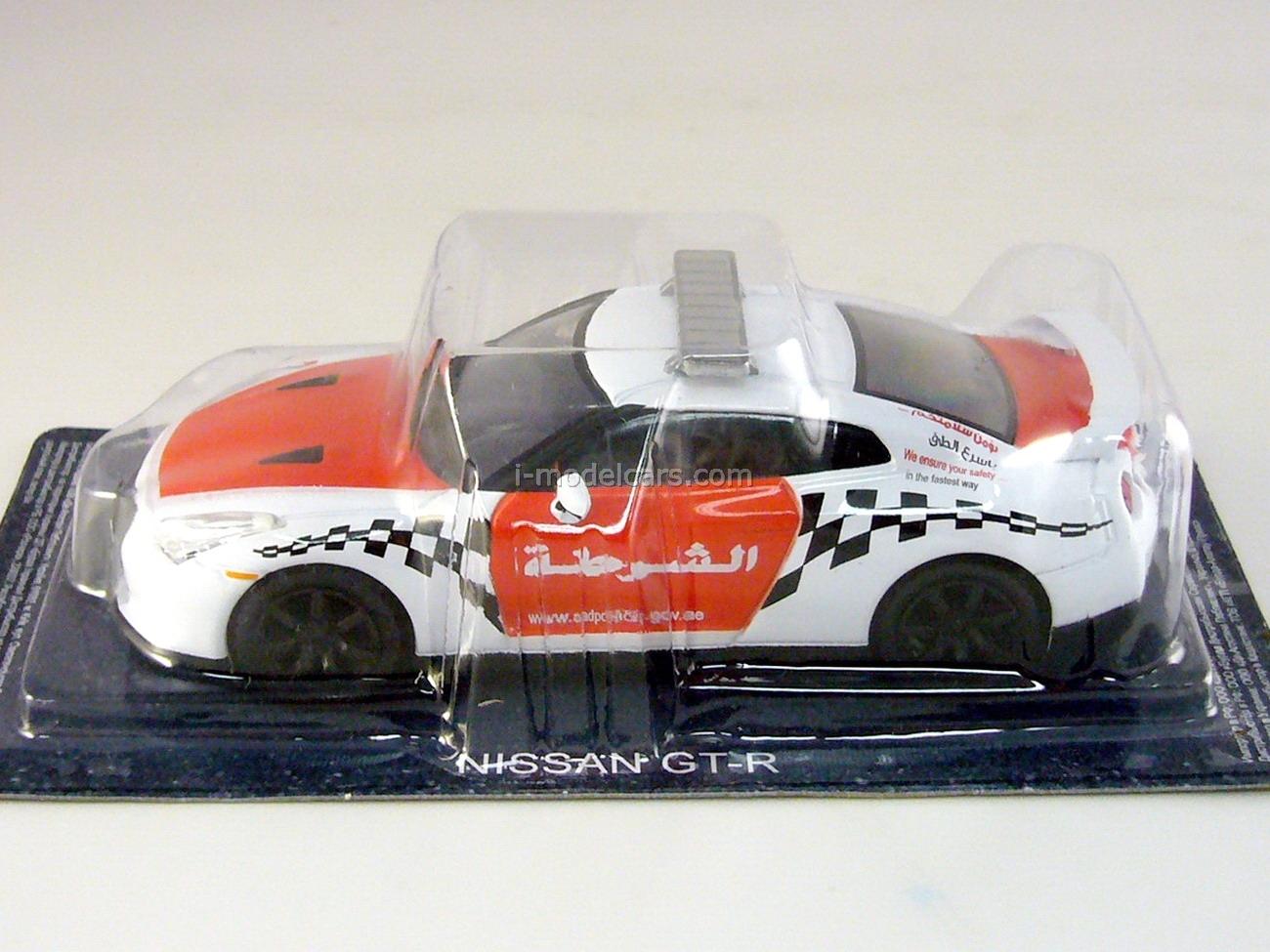 Nissan GTR Police Arab Emirates 1:43 DeAgostini World's Police Car #51