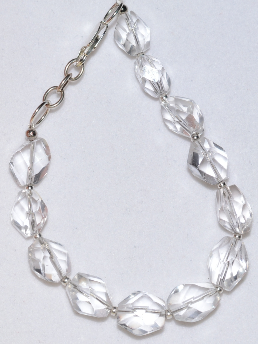 805- хрусталь (браслет из натуральных камней)