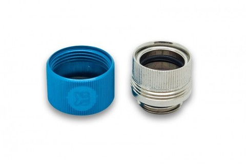 EK-HDC Fitting 12mm G1/4 - Blue