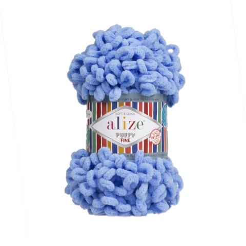 Купить Пряжа Ализе Пуффи Файн Код цвета 112 | Интернет-магазин пряжи «Пряха»