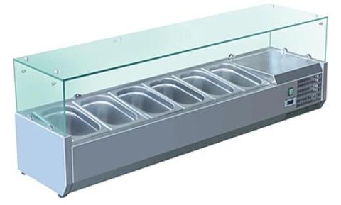 фото 1 Холодильная витрина Koreco VRX1500380(395II) на profcook.ru