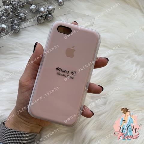 Чехол iPhone 5/5s/SE Silicone Case /pink sand/ розовый песок 1:1