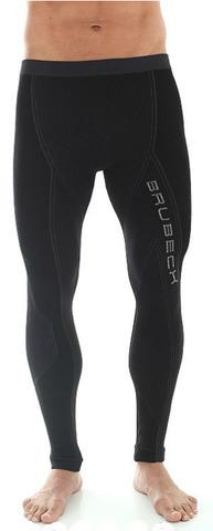 Термобелье кальсоны Brubeck Extreme Merino черные (LE10250) мужские