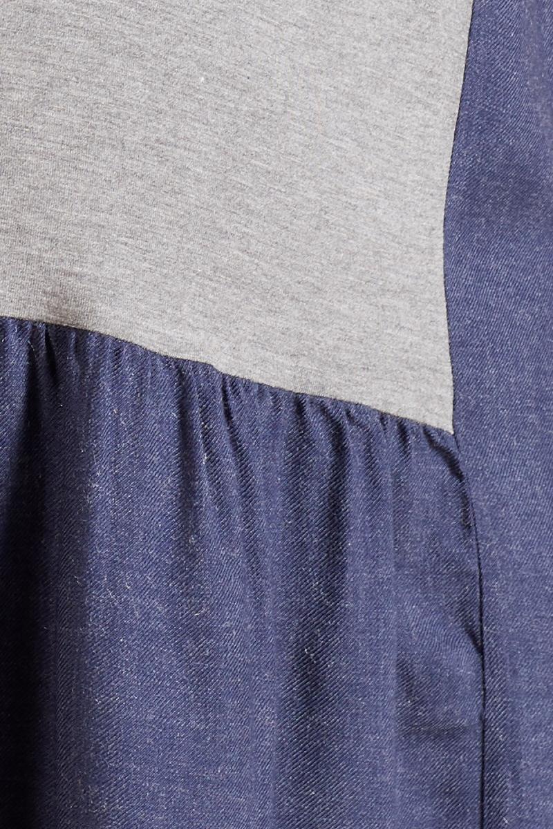 Платье 09798 темно-голубой