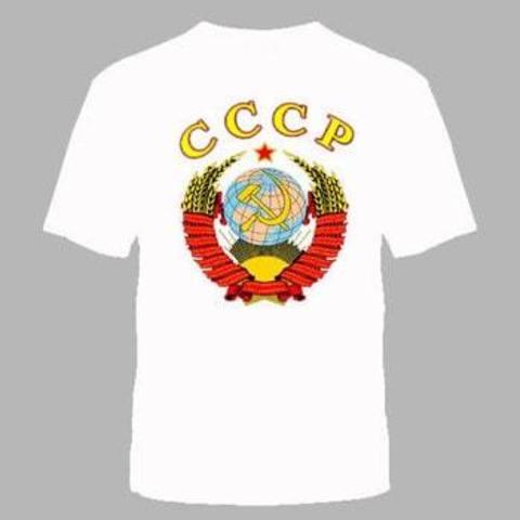 Футболка белая СССР