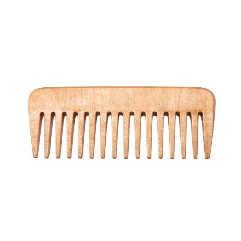 Расчёска-гребень массажная деревянная