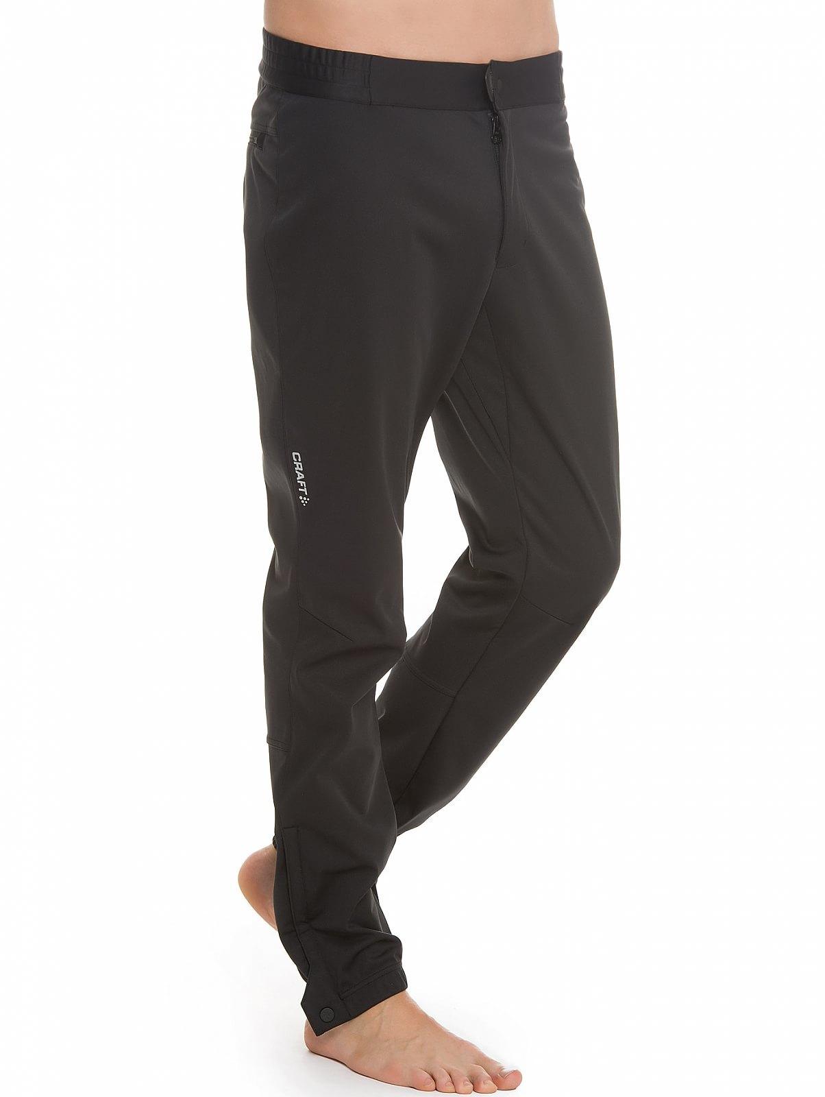 Мужские лыжные брюки Craft Voyage XC (1903582-9999) черный