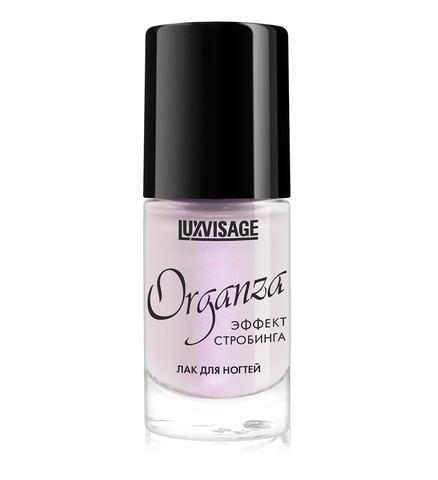 LuxVisage Лак для ногтей Organza тон 101Розовый жемчуг 9г