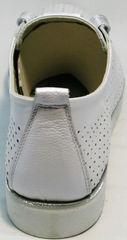 Летняя женская обувь на низком ходу Mi Lord 2007 White-Pearl.