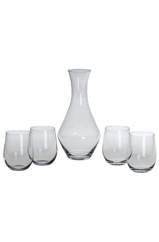 Набор бокалов для белого вина 4шт 320мл и декантер 1шт 970мл Riedel O Viognier/Chardonnay
