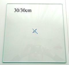 Часы 30/30см, стекло