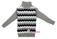 230 свитер -водолазка волна