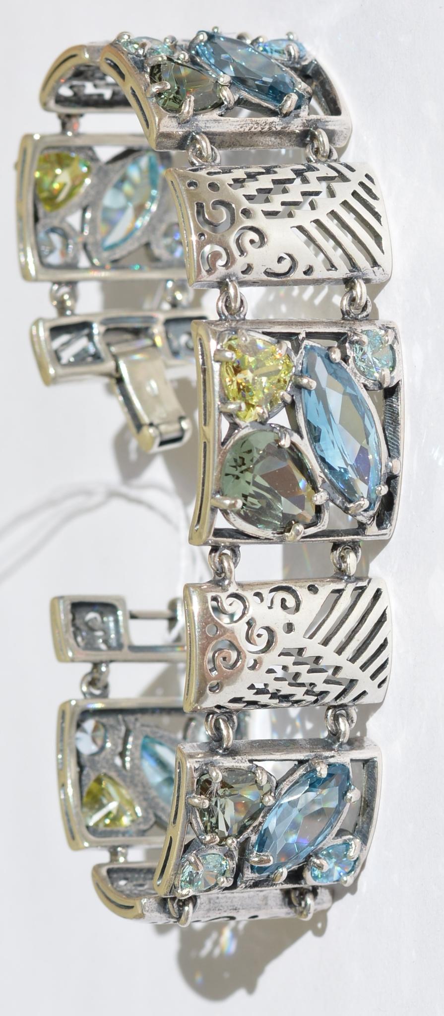 Мехико (браслет из серебра)