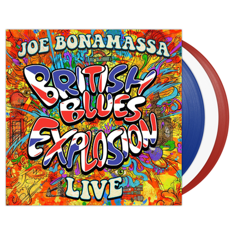 Joe Bonamassa ‎/ British Blues Explosion Live (Coloured Vinyl)(3LP)