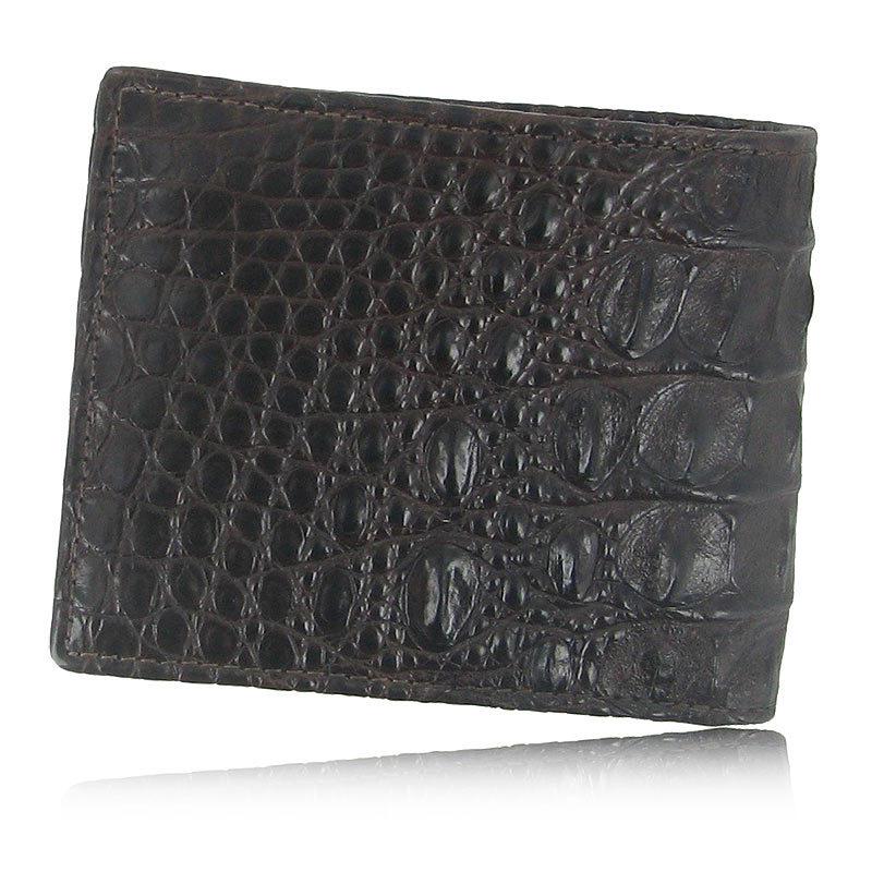 Мужской бумажник из кожи крокодила WR-124