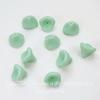 "Бусина ""Цветочек"" (цвет - зеленый ментол) 12х10 мм , 10 штук"