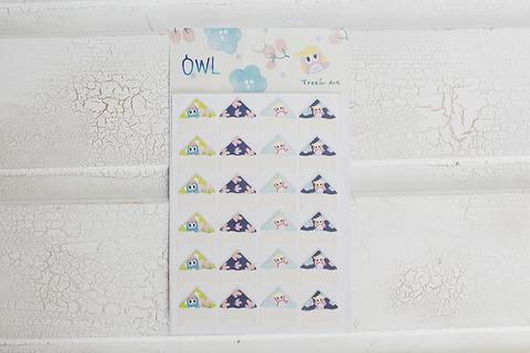 Уголки Owly Ivory