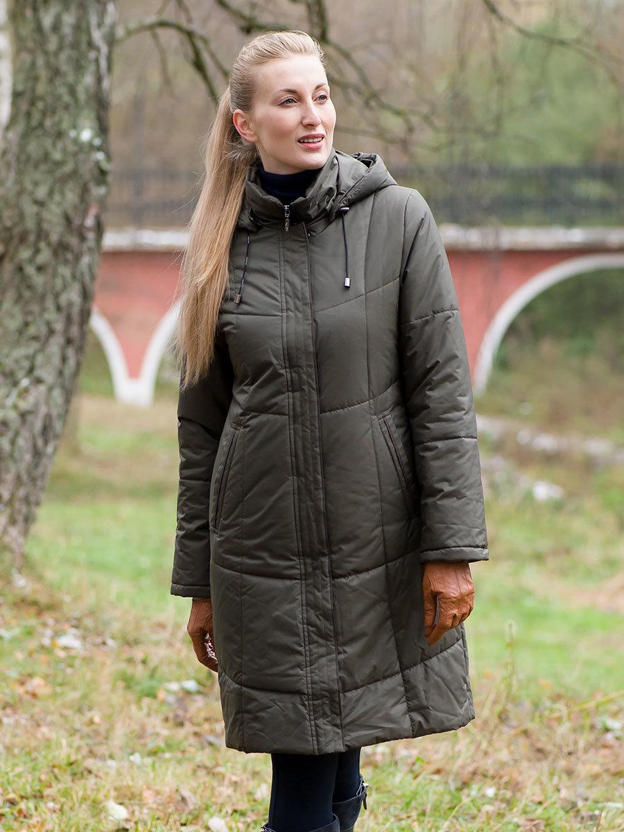 Maritta пальто Virve оливковый