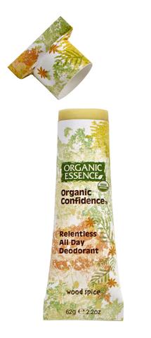 Органический дезодорант, Древесно-пряный Organic Essence