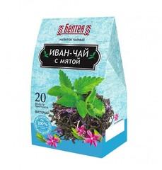 БЕЛТЕЯ  Напиток чайный 20пак Иван-чай с мятой для улучшения пищеварения