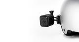 Набор плоских и изогнутых клеящихся платформ GoPro Flat + Curved Adhesive Mounts (AACFT-001) на шлеме с камерой