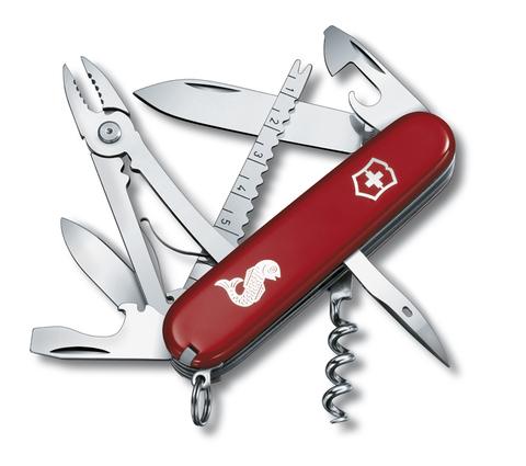 Нож Victorinox Angler, 91 мм, 19 функций, красный