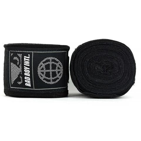 Бинты Bad Boy Combat Premium Hand Wraps Black 5m