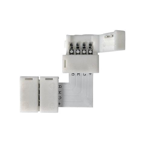Угловой коннектор для светодиодной ленты RGB (5 шт.) LED 3L